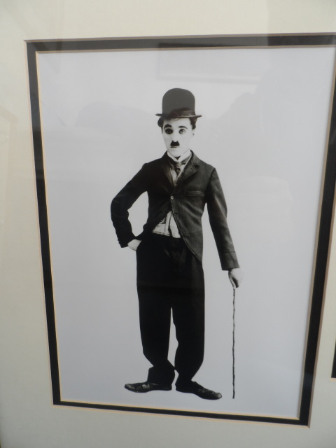 Charlie Chaplin Signed Photograph Framed Display